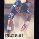 1996 Fleer Baseball #082 Carlos Baerga - Cleveland Indians