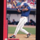 1996 Leaf Preferred Baseball #046 Albert Belle - Cleveland Indians