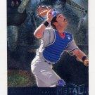 1996 Metal Universe Baseball #187 Mike Piazza - Los Angeles Dodgers