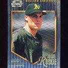 1996 Summit Foil Baseball #174 George Williams - Oakland Athletics