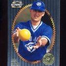 1996 Summit Foil Baseball #138 John Olerud - Toronto Blue Jays