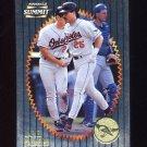 1996 Summit Foil Baseball #123 Rafael Palmeiro - Baltimore Orioles