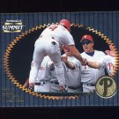 1996 Summit Foil Baseball #092 Lenny Dykstra - Philadelphia Phillies