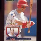 1995 National Packtime Baseball #13 Will Clark - Texas Rangers