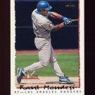 1995 National Packtime Baseball #11 Raul Mondesi - Los Angeles Dodgers