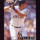 1995 National Packtime Baseball #08 Tim Salmon - California Angels