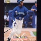 1995 National Packtime Baseball #06 Ken Griffey Jr. - Seattle Mariners