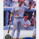 1995 SP Championship Baseball #037 Bret Boone - Cincinnati Reds