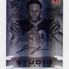 2008 Leaf Rookies And Stars Studio Rookies Autographs #15 Jerome Simpson RC - Bengals AUTO /25