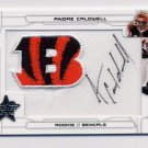 2008 Leaf Rookies And Stars Football #202 Andre Caldwell RC - Bengals AUTO /116