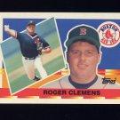 1990 Topps Big Baseball #022 Roger Clemens - Boston Red Sox