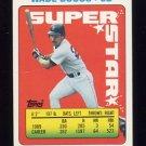 1990 Topps Sticker Backs Baseball #40 Wade Boggs - Boston Red Sox