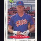 1991 Classic/Best Baseball #068 Jeromy Burnitz - Williamsport Bills