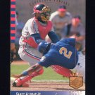 1993 SP Baseball #118 Sandy Alomar Jr. - Cleveland Indians