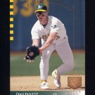 1993 SP Baseball #042 Craig Paquette - Oakland Athletics
