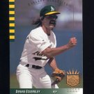 1993 SP Baseball #038 Dennis Eckersley - Oakland Athletics