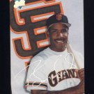 1993 Studio Baseball #012 Barry Bonds - San Francisco Giants