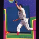 1993 Upper Deck Fun Pack Baseball #155 Jose Canseco - Texas Rangers
