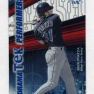 2000 Topps Tek Dramatek Performers #DP9 Mike Piazza - New York Mets