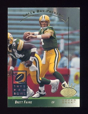 1993 SP Football #093 Brett Favre - Green Bay Packers