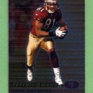 1999 Bowman's Best Football #051 Terrell Owens - San Francisco 49ers