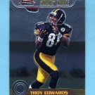 1999 Bowman Chrome Scout's Choice #SC06 Troy Edwards - Pittsburgh Steelers