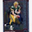 1999 Bowman Chrome Football #060 Brett Favre - Green Bay Packers