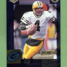 1999 Collector's Edge Advantage Galvanized #059 Brett Favre - Green Bay Packers /500