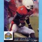 1999 Collector's Edge Advantage Football #170 Edgerrin James RC - Indianapolis Colts