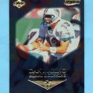 1999 Collector's Edge First Place Gold Ingot #078 Dan Marino - Miami Dolphins