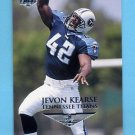 1999 Collector's Edge First Place Football #199 Jevon Kearse RC - Tennessee Titans