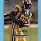 1999 Collector's Edge First Place Football #189 Torry Holt RC - St. Louis Rams