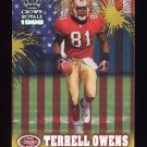 1999 Crown Royale Franchise Glory #20 Terrell Owens San Francisco 49ers