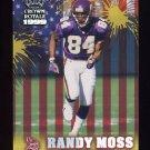 1999 Crown Royale Franchise Glory #14 Randy Moss - Minnesota Vikings