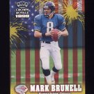 1999 Crown Royale Franchise Glory #11 Mark Brunell - Jacksonville Jaguars