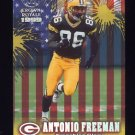 1999 Crown Royale Franchise Glory #09 Antonio Freeman - Green Bay Packers