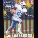 1999 Crown Royale Franchise Glory #07 Barry Sanders - Detroit Lions