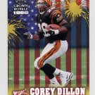1999 Crown Royale Franchise Glory #02 Corey Dillon - Cincinnati Bengals