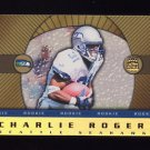 1999 Crown Royale Rookie Gold #24 Charlie Rogers RC - Seattle Seahawks
