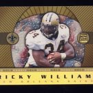 1999 Crown Royale Rookie Gold #16 Ricky Williams RC - New Orleans Saints
