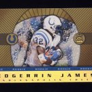 1999 Crown Royale Rookie Gold #08 Edgerrin James RC - Indianapolis Colts