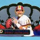 1999 Crown Royale Football #144 Brad Johnson - Washington Redskins