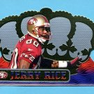 1999 Crown Royale Football #123 Jerry Rice - San Francisco 49ers