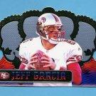1999 Crown Royale Football #121 Jeff Garcia RC - San Francisco 49ers