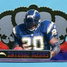 1999 Crown Royale Football #119 Natrone Means - San Diego Chargers