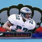 1999 Crown Royale Football #103 Duce Staley - Philadelphia Eagles