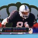 1999 Crown Royale Football #098 Tim Brown - Oakland Raiders