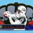 1999 Crown Royale Football #096 Keyshawn Johnson - New York Jets