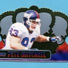 1999 Crown Royale Football #093 Pete Mitchell - New York Giants