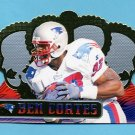 1999 Crown Royale Football #084 Ben Coates - New England Patriots